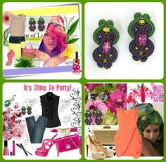 This spring get inspired & play fashion with Dori Inspiration earrings!   Dori Csengeri (DoriCsengeri) on Twitter