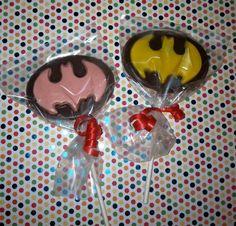 Batman and Batgirl Favors