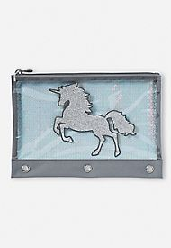 Shimmer Unicorn Pencil Case