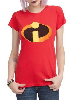 Disney The Incredibles Logo Girls T-Shirt | Hot Topic