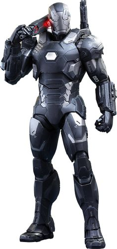 BLOG DOS BRINQUEDOS: War Machine Mark III Marvel Sixth Scale Figure