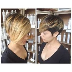 ombre pixie - Google Search