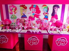 MY LITTLE PONY Equestria Girls - Party Prop - Event Decoration - Bedroom/Yard Decoration