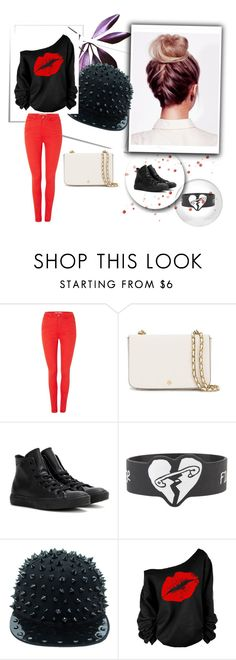 """""""living on the edge"""" by roseryan13 on Polyvore featuring BlendShe, Tory Burch and Converse"""