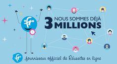 Fr-Domains: Pegel von drei Millionen Registrierungen überschritten