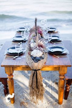 Shipwrecked tablescape... Full of all sorts of goodies!  @Set Free Photography