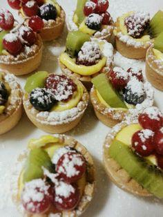 Crostatine finger food alla frutta :P