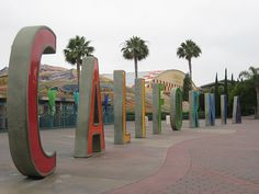 """Disneyland, California (USA)....miss this.  I would always pose in front of the """"R."""" :("""