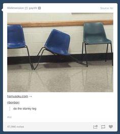 Do the stanky leg