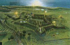 Bombardment at Fort