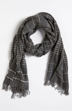 rag & bone 'Ragged Stripe' Scarf available at #Nordstrom