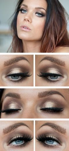 Magical make-up tips for the perfect make-up - Halloween make-up ideas - . - Make-Up - eye make up makeup makeup up artistico up night party make up make up gold eye make up eye make up make up Love Makeup, Makeup Inspo, Makeup Inspiration, Girls Makeup, Black Makeup, Gorgeous Makeup, Perfect Makeup, Simple Makeup, Amazing Makeup