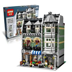 2462Pcs free shipping Lepin 15008 City Street Creator Green Grocer Model Building Kits Minifigure Blocks Bricks Compatible 10185 #>=#>=#>=#>=#> Click on the pin to check out discount price, color, size, shipping, etc. Save and like it!