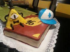 gravity falls birthday cake