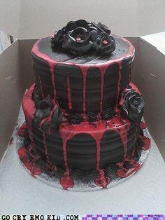 The Cake Matches My Soul…ReallySugary!