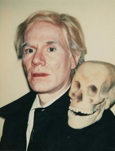 Warhol, Self-Portrait with Skill, 1977, Polaroid