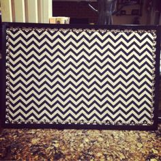 Getting crafty: to re do a cork board just paint the frame, cover the cork with fabric, and hold with flat tacks! Putting this in my dorm room!