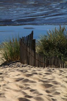Le touquet, France.  Probably the best beach I've set foot on :-)