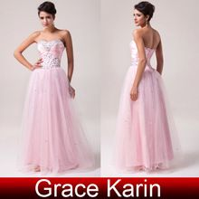 Prom dresses, Prom dresses direct from Grace Karin Evening Dress Co. Limited (Suzhou) in China (Mainland) Prom Party Dresses, Evening Dresses, Formal Dresses, Tulle Ball Gown, Ball Gowns, Sweet 16 Dresses, Pink Tulle, Buy Dress, Crystal Beads