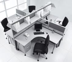 Office furniture, cubicles, filing, seating, and so much more. – Home office design layout White Office Furniture, Office Furniture Design, Office Interior Design, Office Interiors, Furniture Layout, Office Cubicle Design, Modern Office Design, Office Ideas For Work, Office Plan
