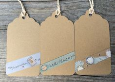 Bon Voyage, Travel Gift Tags, Farewell Going Away Party Kraft Favor Labels - Set of 6 by EllieMarieDesigns on Etsy https://www.etsy.com/listing/196155254/bon-voyage-travel-gift-tags-farewell
