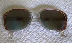VINTAGE MARTIN WELLS Sabina Eyeglasses by Gemini Australia 311 145 1980's. $67,00, via Etsy.