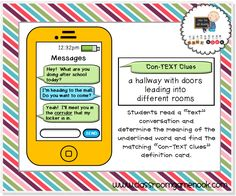 Freebie game {Con-TEXT Clues}