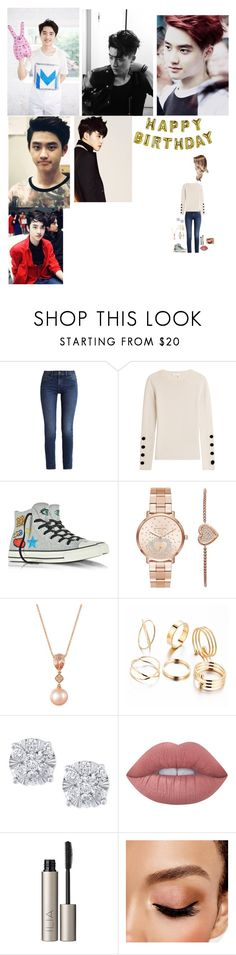 """""""Happy birthday d.o🎂😘"""" by tkyle134 ❤ liked on Polyvore featuring MCM, Calvin Klein, See by Chloé, Converse, Michael Kors, LE VIAN, Effy Jewelry, Lime Crime, Ilia and Avon"""
