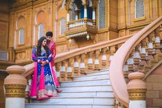 Photographer - The Royal Wedding! Photos, Hindu Culture, Beige Color, Hairstyle, Sangeet Makeup, Mangtika pictures, images, WeddingPlz