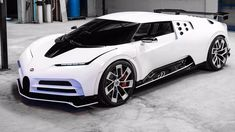 The all-new Bugatti Santodeci 2020 - a beautiful missile with a capacity of 1600 hp and a price of 9 million Luxury Sports Cars, Fast Sports Cars, Top Luxury Cars, Exotic Sports Cars, Sport Cars, Lamborghini Gallardo, Ferrari F40, Bmw I8, Automobile
