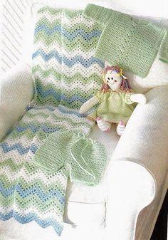 La Magia del Crochet: Mantas patrones gratis tragecito