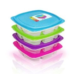 Happy Lunchboxes 4-compartment Bento Lunch Box Containers Lunch Boxes For Men, Plastic Lunch Boxes, Lunch Box Containers, Cool Lunch Boxes, Adult Lunch Bag, Bento Box Lunch, Lunch Bags, Thing 1, Pure Products