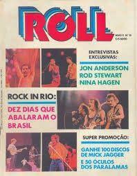 """STUDIO PEGASUS - Tecnologia de Multimídia Digital (T.I./I.T.): OS ANOS 80 - Revistas Marcantes: """"ROLL"""""""