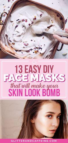 13 DIY face masks th