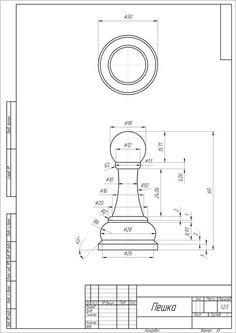 chess figures - SOLIDWORKS - 3D CAD model - GrabCAD