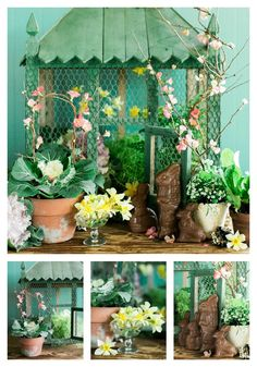 DIY Easter Decoration with Plants