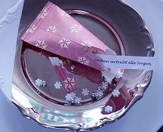 Wunsch-Tüte - Dekoration für die Silvester-Party 3 - [LIVING AT HOME]