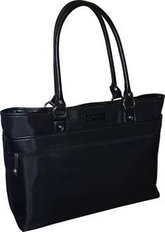 Amazing offer on Franklin Covey Women's Business Laptop Tote Bag - Black online - Fortrendytoprated Laptop Tote Bag, Leather Laptop Bag, Crossbody Tote, 17 Laptop, Laptop Bag For Women, Business Laptop, Best Laptops, Best Running Shoes, Black Tote Bag