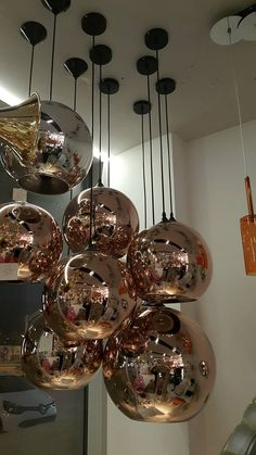 Copper Glass Spheres ( Chrome and Gold Colours are also available)   Bakır Küre…