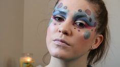 Bright, Colourful Festival Makeup Look - Shimmery lip