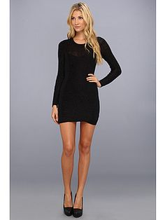 BCBGeneration L/S Round Neck Sweater Dress $72.99