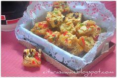 Resipi Citarasawan | Koleksi Resepi Kakwan Biskut Florentine / Florentine Cookies