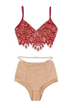 42c922801b421 The Prettiest Lingerie to Rock This Valentine s Day Delicate Lingerie