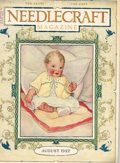 august 1927 needlecraft magazine