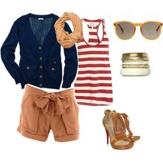 Love everything but the shoes and bangles, what can I say, I'm a practical dresser :)