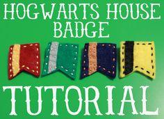 Fairweather Friends Blog: Tutorial: Hogwarts House Badge