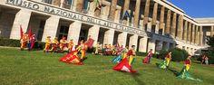 L'arte del maneggiar l'insegna nel patrimonio del folklore italiano con gli Sbandieratori dei Rioni di Cori