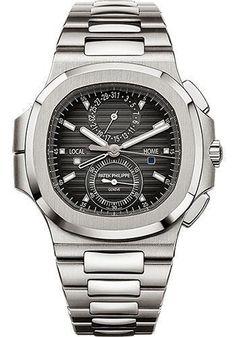 51961635569 Patek Philippe Nautilus Travel Time Chronograph Watch 5990 1A-001