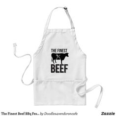 The Finest Beef BBq Festival cafe apron
