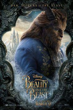 遂にディズニー実写版『美女と野獣』全キャラクター・ポスターが解禁!ユアン・マクレガー、イアン・マッケラン、ルーク・エヴァンス、そしてダン・スティーヴンスの野獣・素顔バージョンも!
